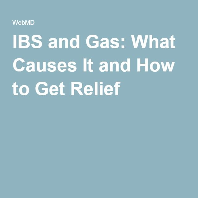 how to get rid of ibs gas