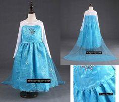 frozen ebay elsa kleid elsa kostuem kleider