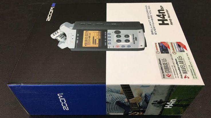 Zoom H4N Digital Multitrack Recorder Unboxing