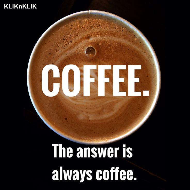 Apa yang membuat hari senin lebih menyenangkan? ☕️ #Coffee #Kopi #Monday