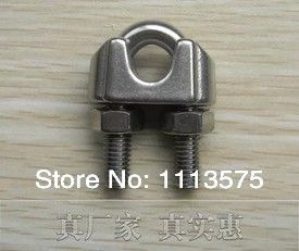 M3,304,321,316 Stainless Steel Wire Rope Clip Cable Clamp rigging hardware,Factory direct sale