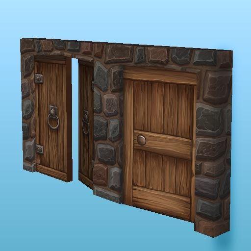 Doors 1 | Hand Painted Textures