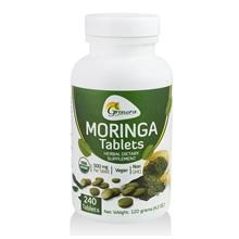 Organic Moringa Tablets Herbal Dietary Supplement 240 Tablets Per500mg