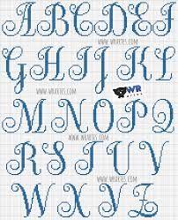 Картинки по запросу monogramas ponto cruz para imprimir
