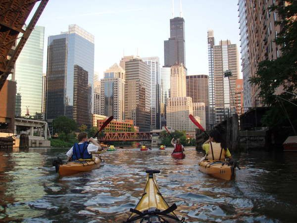 kayak chicago 4th of july