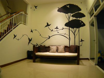 Trees Creative Wall Paintingwall Painting Designcreative