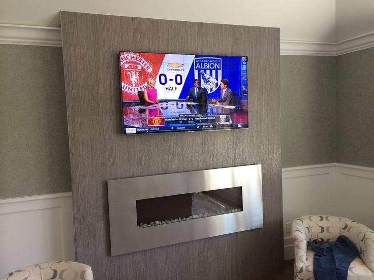 Custom Master Bedroom TV