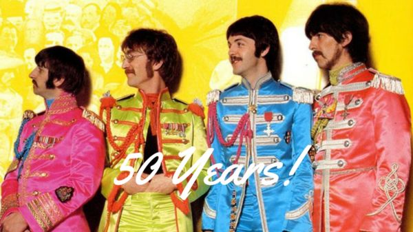Sgt. Pepper's Lonely Hearts Club Band began as a concept album. It was Paul McCartney's idea to recreate an Edwardian era army band for the album; this would gi