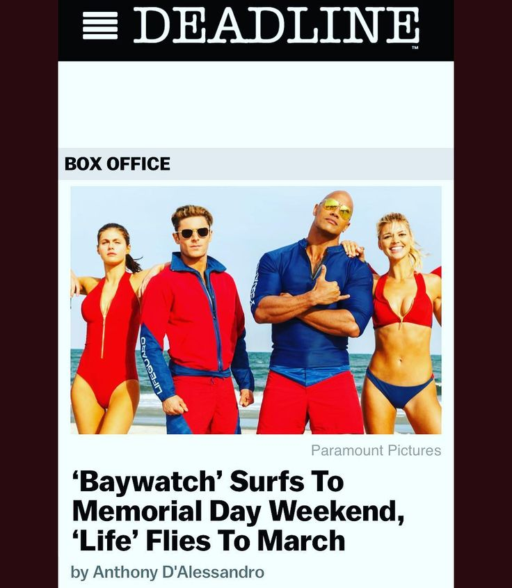The Baywatch movie will be R rated and the release date has been scooted forward!!! Post via The Rock on Instagram