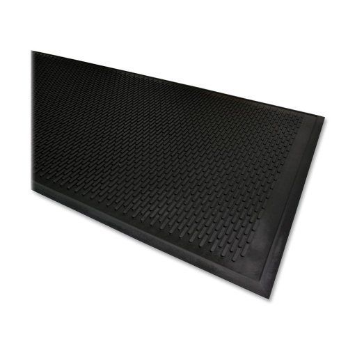 Genuine Joe Scraper Outdoor Mat, Rubber, Traps Dirt/Grime, 3'x5', Black SKU-PAS951946 by Genuine Joe. $91.01. Please refer to the title for the exact description of the item. All of the products showcased throughout are 100% Original Brand Names.. 100% SATISFACTION GUARANTEED. Genuine Joe Scraper Outdoor Mat, Rubber, Traps Dirt/Grime, 3'x5', BlackOutdoor mat is ideal for any outside entryway. The superior molded tread aggressively scrapes a shoe clean of di...
