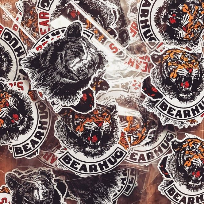 THE BEARHUG CO - Limited Edition Sticker Pack