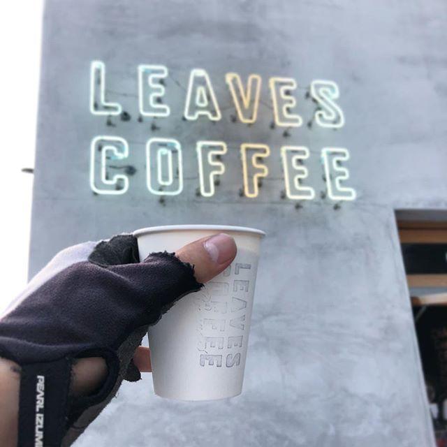アイスラテ #leavescoffeeapartment #カフェ #cafe #浅草 #駒形 #厩橋