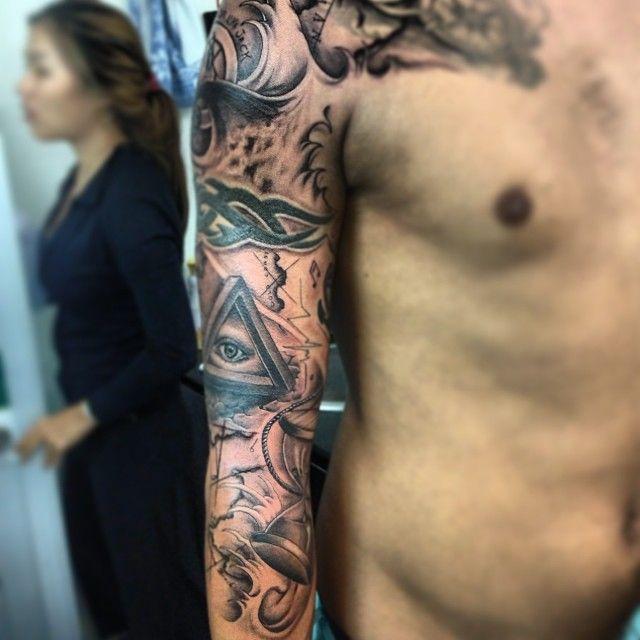 Illuminati  Tattoo ink...