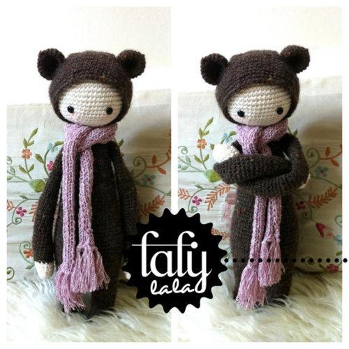 crochet pattern bear BINA