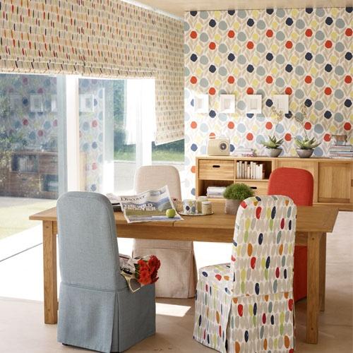 Laura Ashley Kitchen Wallpaper: Serena Natural Multi Wallpaper
