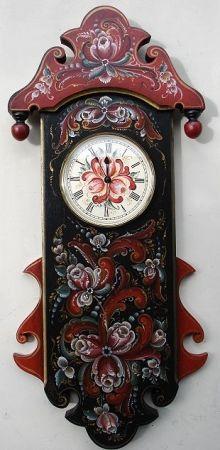 Royal Crown Clock (Telemark) -roses