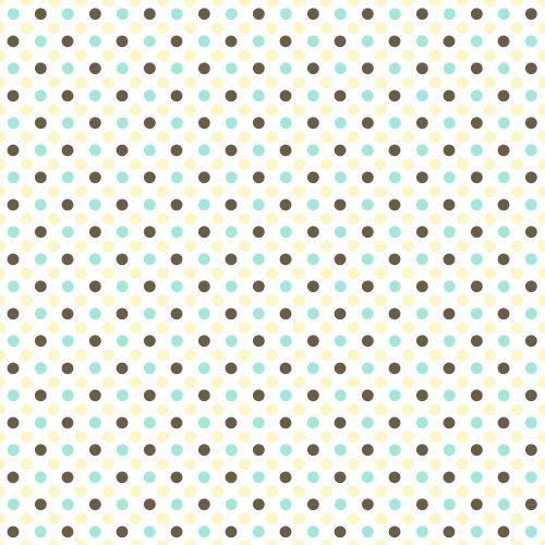 Seamless Retro Polka Dots - Background Labs