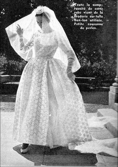 146 best 1960s wedding dresses images on Pinterest | 1960s wedding ...