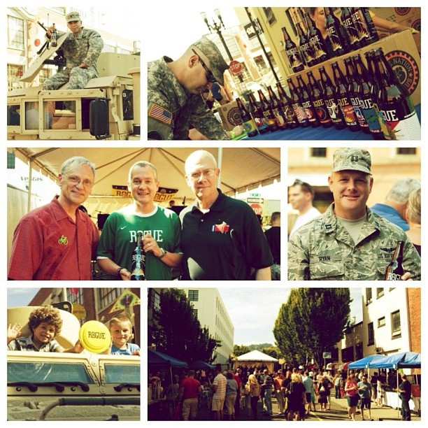 Rogue Ales and Oregon National Guard 10 yr Anniversary