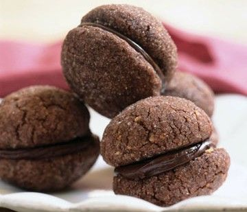 Chocolate Baci, italian cookies