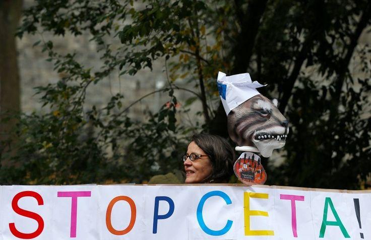 Die wallonische Regionalregierung will über das Freihandelsabkommen Ceta nachverhandeln. Jetzt hat die EU eine Frist gesetzt.