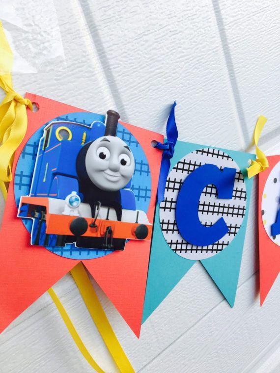 Tren de Thomas el tren banner thomas el encabezado nombre del