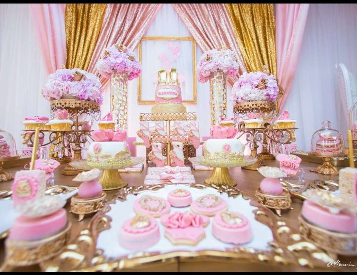 Princess Theme Party Decoration Ideas Part - 42: Princess Birthday Party