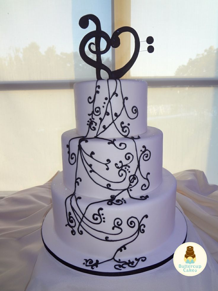187 Best Music Cakes Images On Pinterest