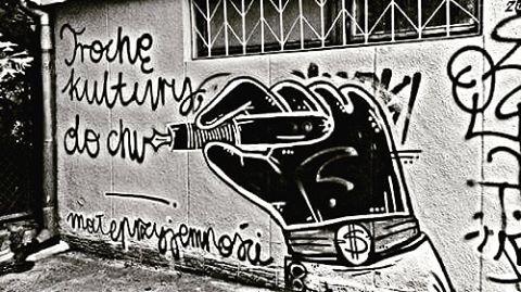 Boję się każdej swojej myśli.  #cynicznyromantyzm #cynical #streetart #art #poland #thoughs #afraid #poet #poetry