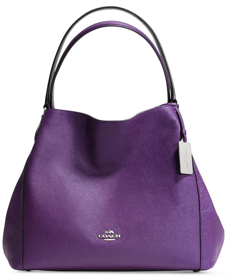 COACH EDIE 31 SHOULDER BAG IN CROSSGRAIN LEATHER - Coach Handbags - Handbags & Accessories - Macy's