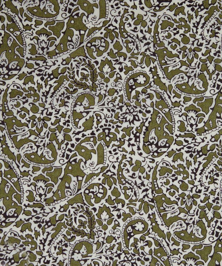 NEW SEASON! Liberty Art Fabrics Lagos Laurel D Tana Lawn | Classic Tana Lawn by Liberty Art Fabrics | Liberty.co.uk