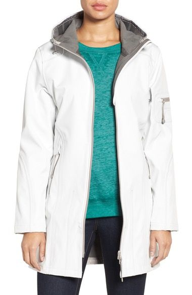 Ilse Jacobsen 'Rain 7B' Hooded Water Resistant Coat available at #Nordstrom