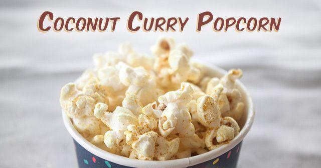 Coconut Curry Popcorn Seasoning Recipe