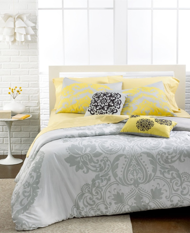 Bedroom Decor Gray And Yellow Macys Bedroom Sets Bedroom Colors Design Bedroom Colors Tumblr: 211 Best Grey And Yellow Decor Images On Pinterest