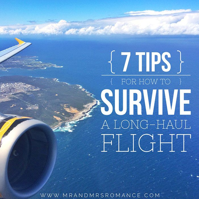 7 Tips for How to Survive a Long-Haul Flight