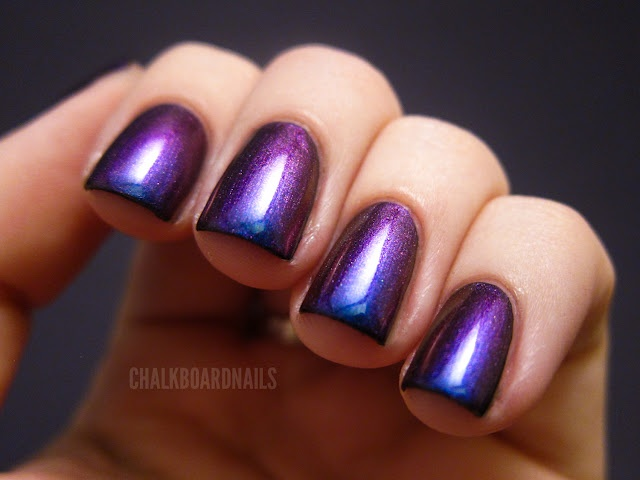 Multichrome Nailpolish ~ StunnerOzot 506, Colors Combos, Nails Art, Chalkboards Nails, China Glaze, Makeup, Cyber Mondays, Nails Polish, Multichrom Nailpolish