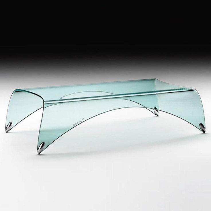 Genio Glass Coffee Table