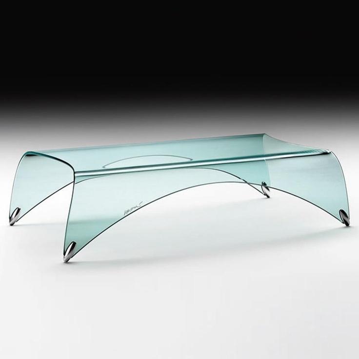 Genio Glass Coffee Table