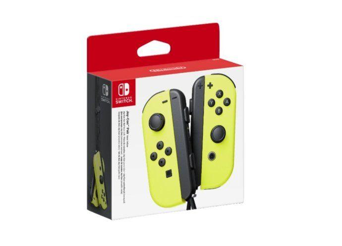 Nintendo Switch Joy Con In Gelb Fur 59 Euro Bei Mediamarkt Im Angebot Nintendo Switch Nintendo Media Markt