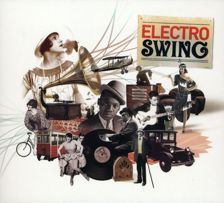 Various - Electro Swing- can this seriously be recognized more, like it's the past fuzed with the future, and it's bloody brilliant