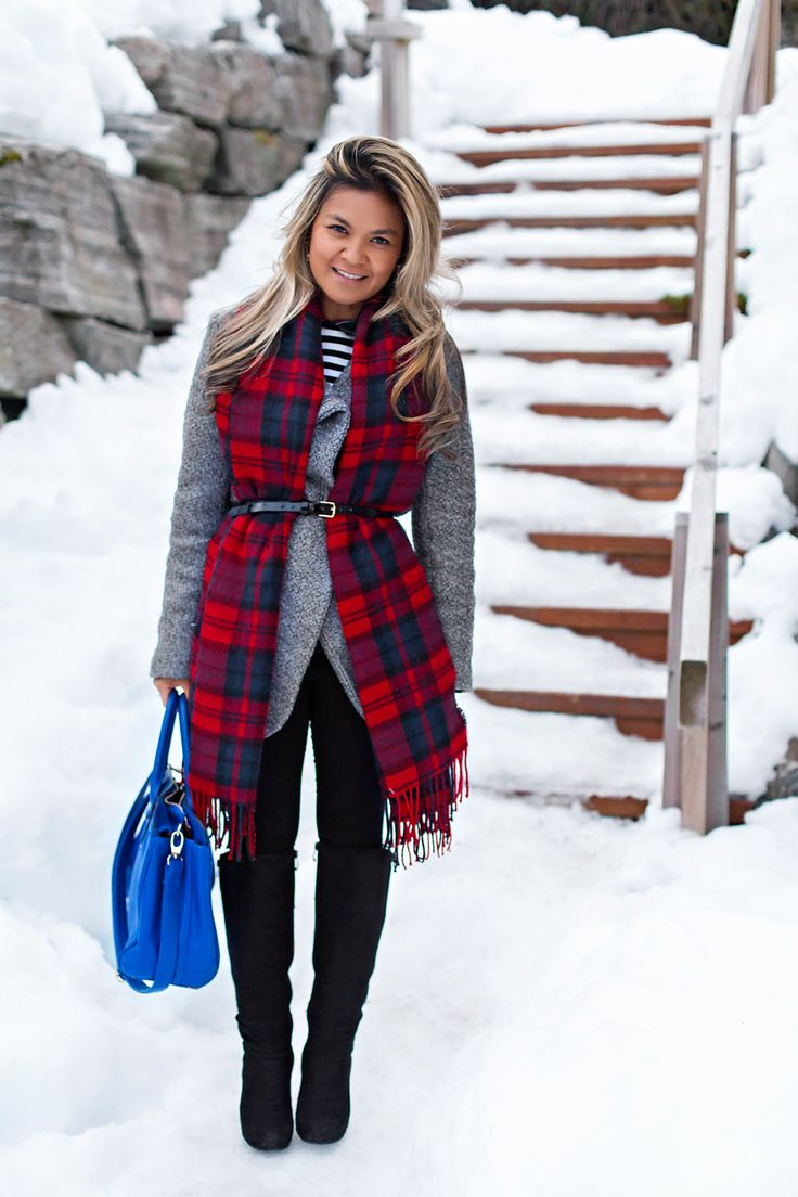 winter and plaid <3