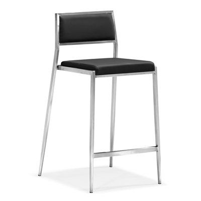 Zuo Modern 30018 Dolemite Counter Chair (Set of 2)