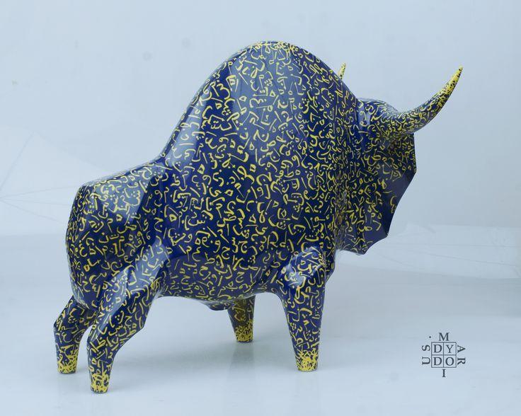 XXL size model Orient, 44 x 53 x 33 cm. Ceramic sculpture. Autor: Mariusz Dydo