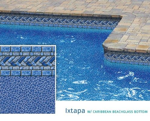 17 Best Images About Pool Liners Vinyl On Pinterest Black Granite Indigo And Blue Granite