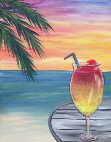 Sip of Summer at Rosa's at Tower Park - Paint Nite Events near Lodi, CA>