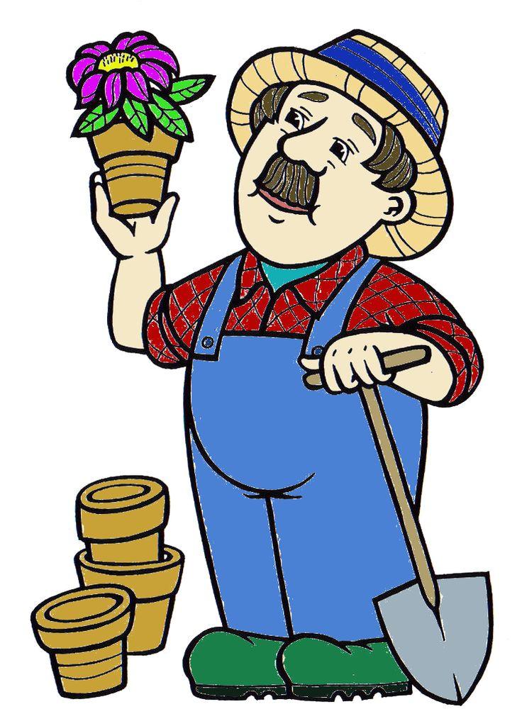 záhradník | povolanie | Pinterest | Clip art