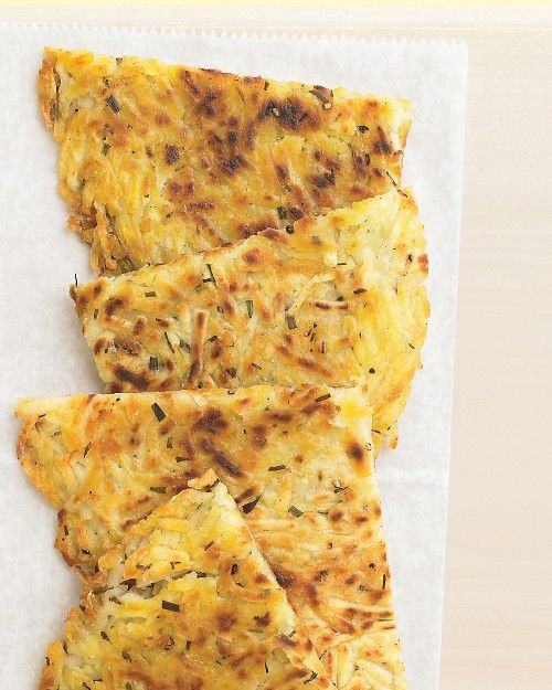 Potato-Chive Pancake - Martha Stewart Recipes