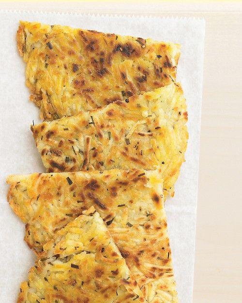 Potato-Chive Pancake - Martha Stewart Recipes