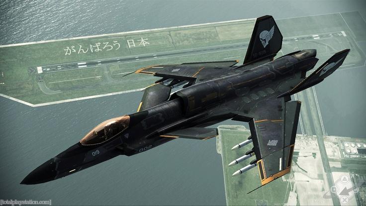 """Ace Combat ASFX """"Shinden II"""" Assault Fighter, DLC from Assault Horizon"""