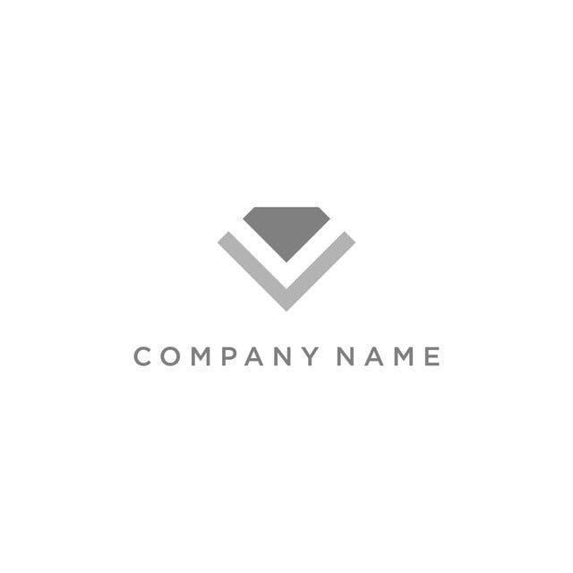 ناقل الماس لشعار متجر المجوهرات Shop Logo Diamond Vector Company Names